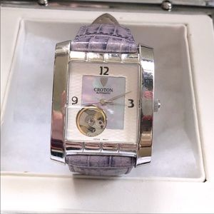 Croton Mother of Pearl Automatic Ladies Watch